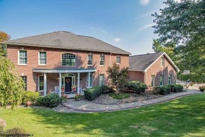 Morgantown WV Single Family Home Back On Market: $1,600,000