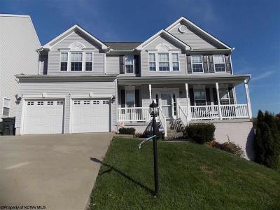 Morgantown Single Family Home Contingent: 116 Ruidosa Lane