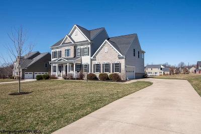 Morgantown Single Family Home Contingent: 703 North Vista Court