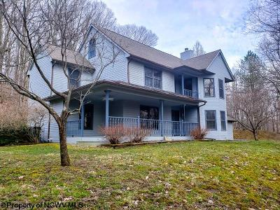 Morgantown Single Family Home Contingent: 68 Quail Road