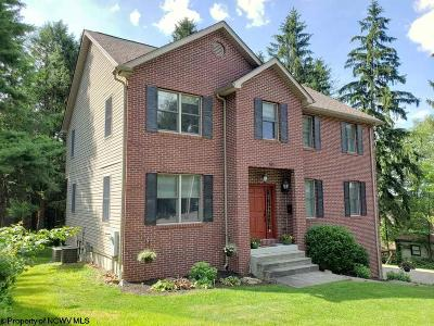 Morgantown Single Family Home For Sale: 606 Jefferson Street