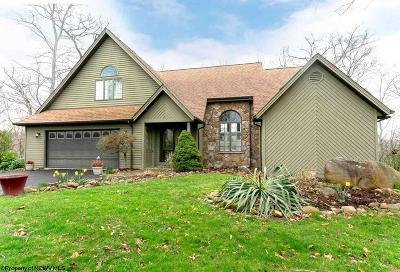 Morgantown Single Family Home Contingent: 1009 Greystone Circle