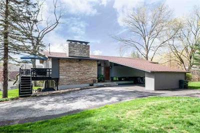 Morgantown Single Family Home Contingent: 221 Horseshoe Road