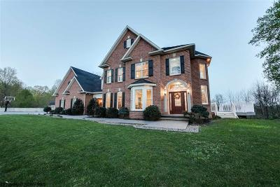 Morgantown Single Family Home New: 152 Southern Galloway Lane
