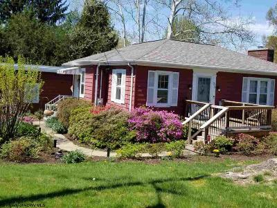 Morgantown WV Single Family Home New: $452,500