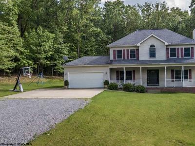 Morgantown Single Family Home Contingent: 214 Sumac Circle