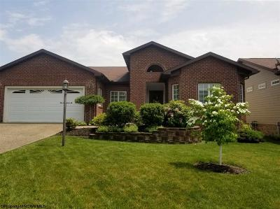 Morgantown Single Family Home Contingent: 104 Crimson Sky Drive