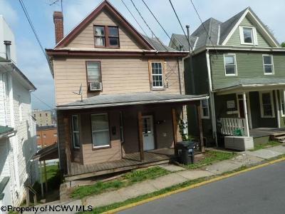 Morgantown Multi Family Home New: 549 Locust Avenue