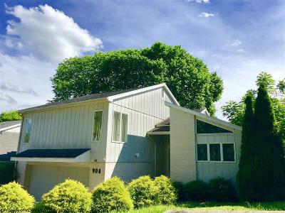 Morgantown Single Family Home For Sale: 908 Stewart Place