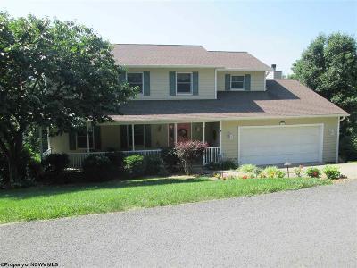 Morgantown Single Family Home Contingent: 1009 Deerwood Drive