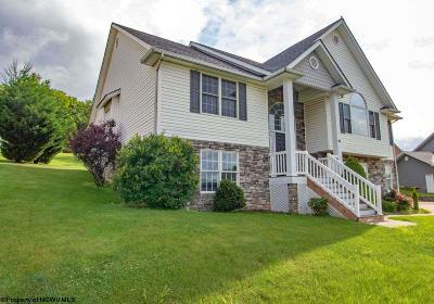 Morgantown Single Family Home Contingent: 44 Mescal Lane West