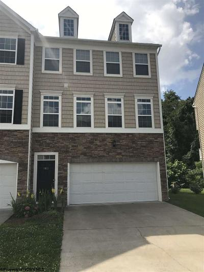Morgantown Condo/Townhouse For Sale: 1411 Townhouse Way