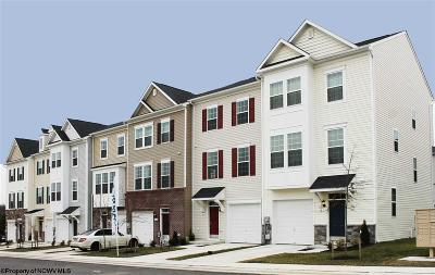 Morgantown WV Condo/Townhouse New: $243,250