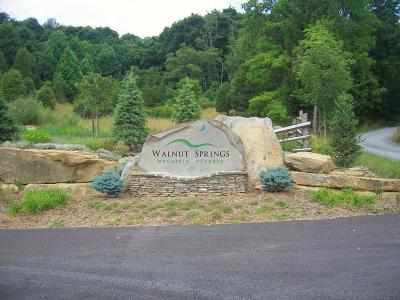 Union Residential Lots & Land For Sale: LOT 7 Walnut Springs