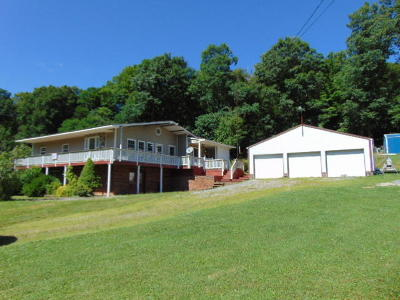 Fayette County, Greenbrier County, Mercer County, Monroe County, Nicholas County, Pocahontas County, Raleigh County, Summers County Single Family Home For Sale: 785 Roaring Creek Road