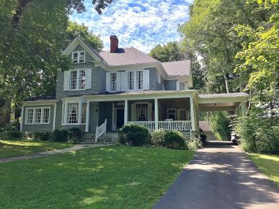 Lewisburg Single Family Home For Sale: 1574 Washington Street E