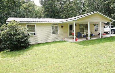 Frankford Single Family Home For Sale: 412 Boone Mountain Rd.