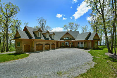 Lewisburg Single Family Home For Sale: 549 Asbury Trace