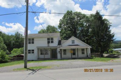 Rupert WV Single Family Home For Sale: $39,900
