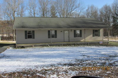 Meadow Bridge WV Single Family Home Sold: $70,000