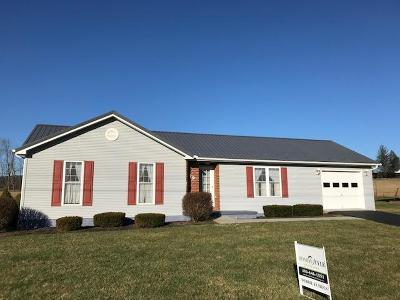 Lewisburg WV Single Family Home For Sale: $193,500