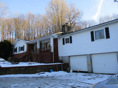 Quinwood WV Single Family Home For Sale: $125,000