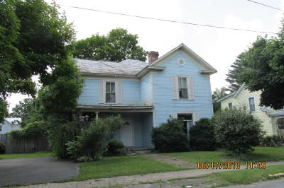 Alderson WV Single Family Home For Sale: $59,500
