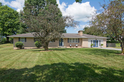 Lewisburg Single Family Home For Sale: 563 Houfnaggle Rd