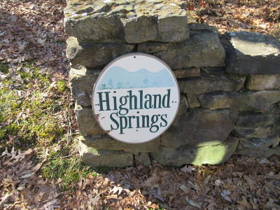 Residential Lots & Land For Sale: Lot 10 Highland Springs Road