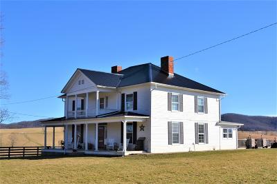 Union WV Farm For Sale: $529,900