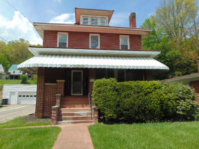 Bluefield WV Single Family Home For Sale: $99,000