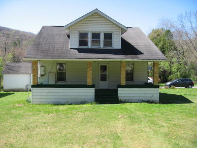 Hines WV Single Family Home For Sale: $74,900