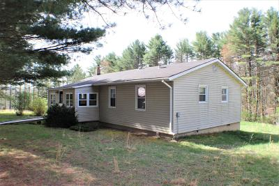 Marlinton WV Single Family Home For Sale: $124,000