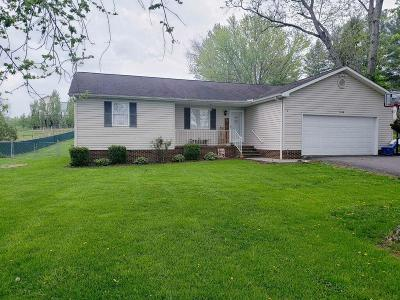 Lewisburg Single Family Home For Sale: 3188 Houfnaggle Rd