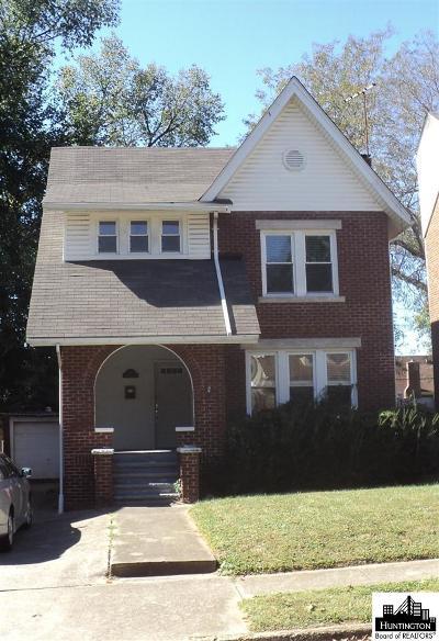 Huntington WV Single Family Home For Sale: $107,500