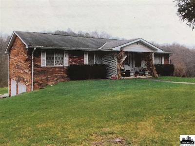 Huntington Single Family Home For Sale: 4901 W Pea Ridge Road