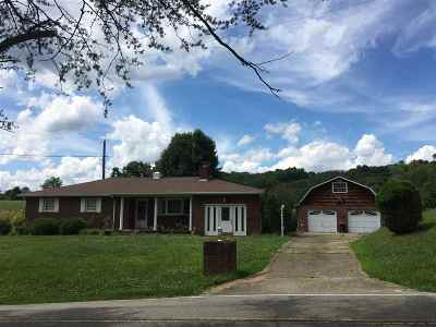 Milton Single Family Home For Sale: 1264 Newmans Branch