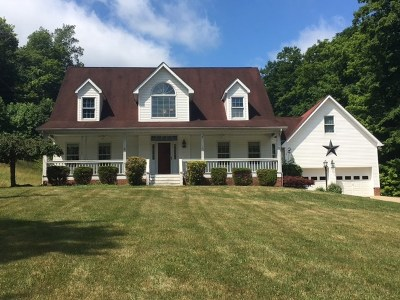Chesapeake Single Family Home For Sale: 645 Township Road 156