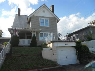 Ironton OH Single Family Home For Sale: $99,900