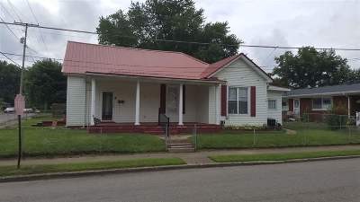 Coal Grove OH Single Family Home For Sale: $89,000