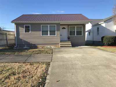 Ironton Single Family Home For Sale: 2410 S 10th Street