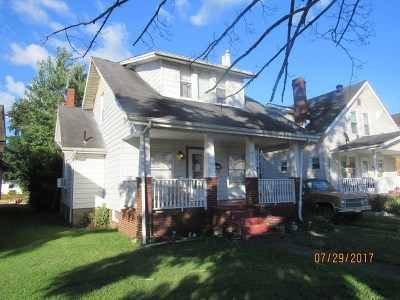 Ironton Single Family Home For Sale: 1511 S 5th St