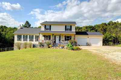 Barboursville Single Family Home For Sale: 3020 Toms Creek Rd