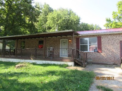 Ironton Single Family Home For Sale: 4393 State Route 650
