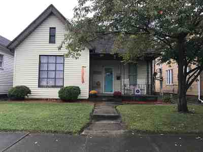 Ironton Single Family Home For Sale: 1618 S 5th St