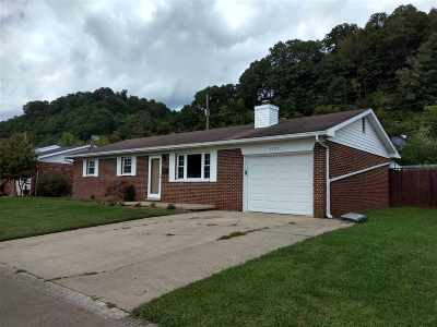 Ironton Single Family Home For Sale: 1707 Waldo Drive