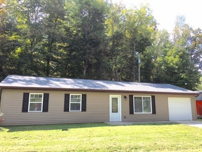 Ironton Single Family Home For Sale: 4357 State Route 650