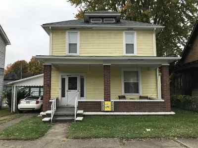 Ironton Single Family Home For Sale: 618 S 7th Street