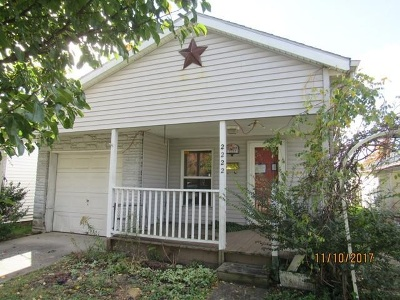 Ironton Single Family Home For Sale: 2222 S 7th St