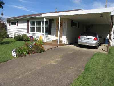 South Point OH Single Family Home For Sale: $96,500